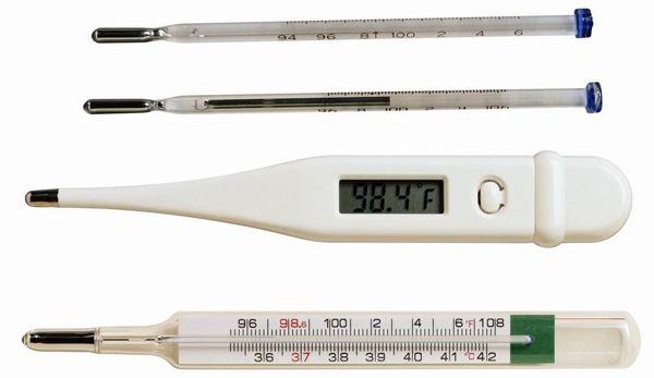 常用的体温计