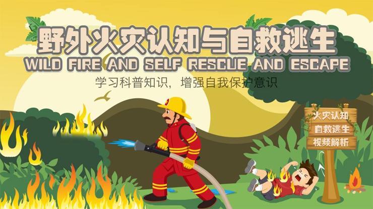 野外火灾如何自救